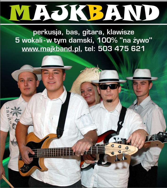 MAJKBAND- Muzyka na żywo !!!